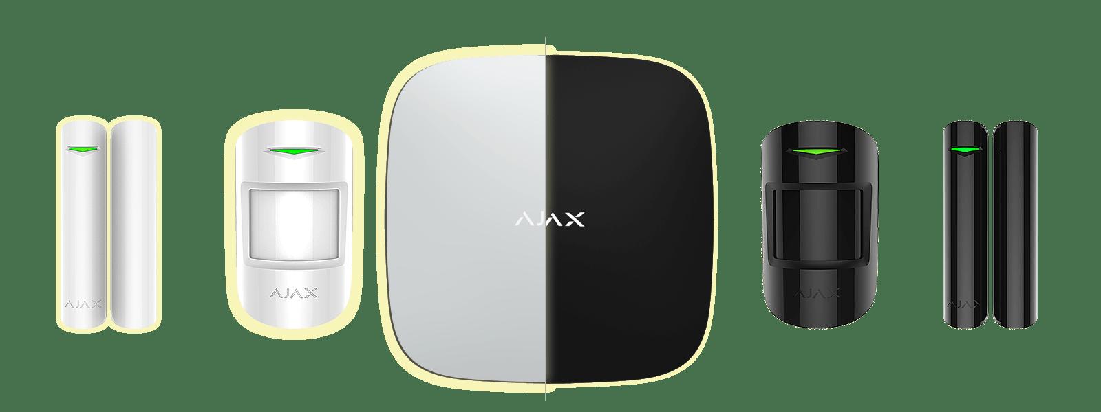 AJAX – Sistema seguridad inalámbrica de última generación, grado II